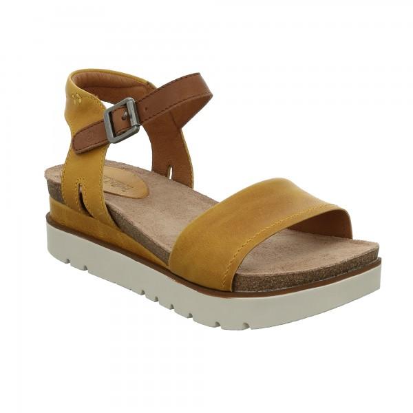 Josef Seibel Clea 01 Womens Yellow Combi Sandal