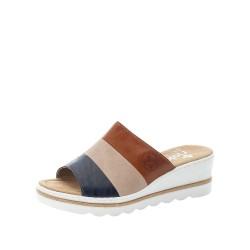 Rieker 6749214 Womens Blue Combi Sandal