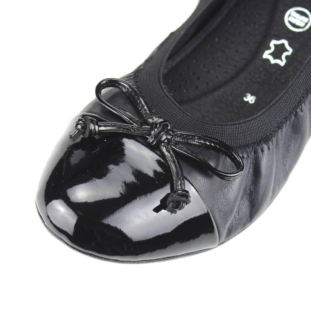 Geox Piuma Ball Chicas Escuela Negra Zapato