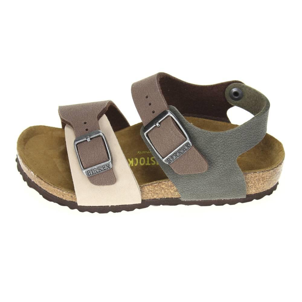 Birkenstock new york kinder boys brown combi sandal ebay for Birkenstock new york