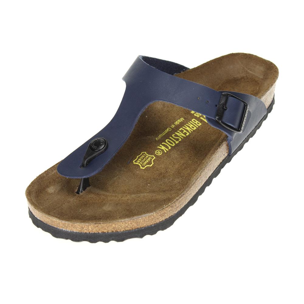 birkenstock gizeh womens blue sandal ebay