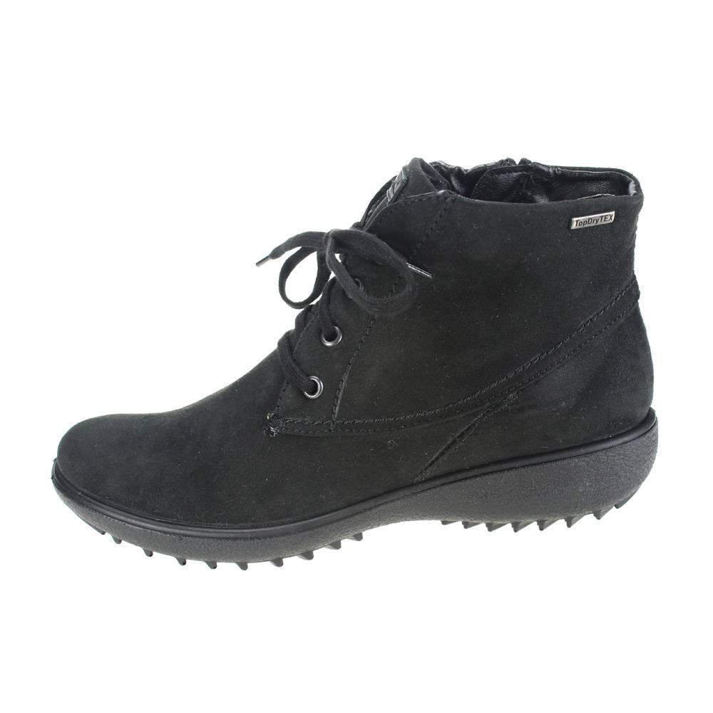 romika nadja 126 womens black boot waterproof ankle boot