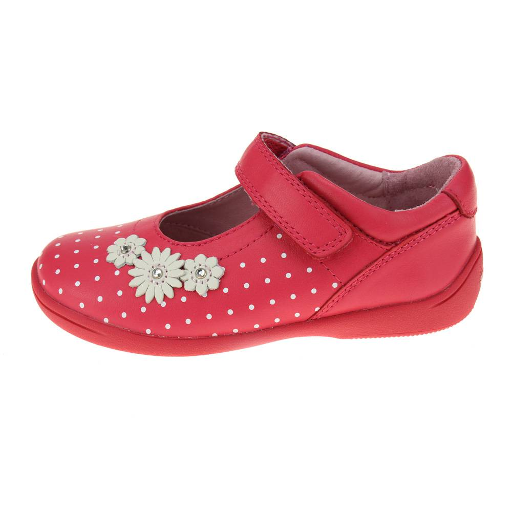 START-Rite Supersoft Daisy Chicas Rosa Brillante Zapato
