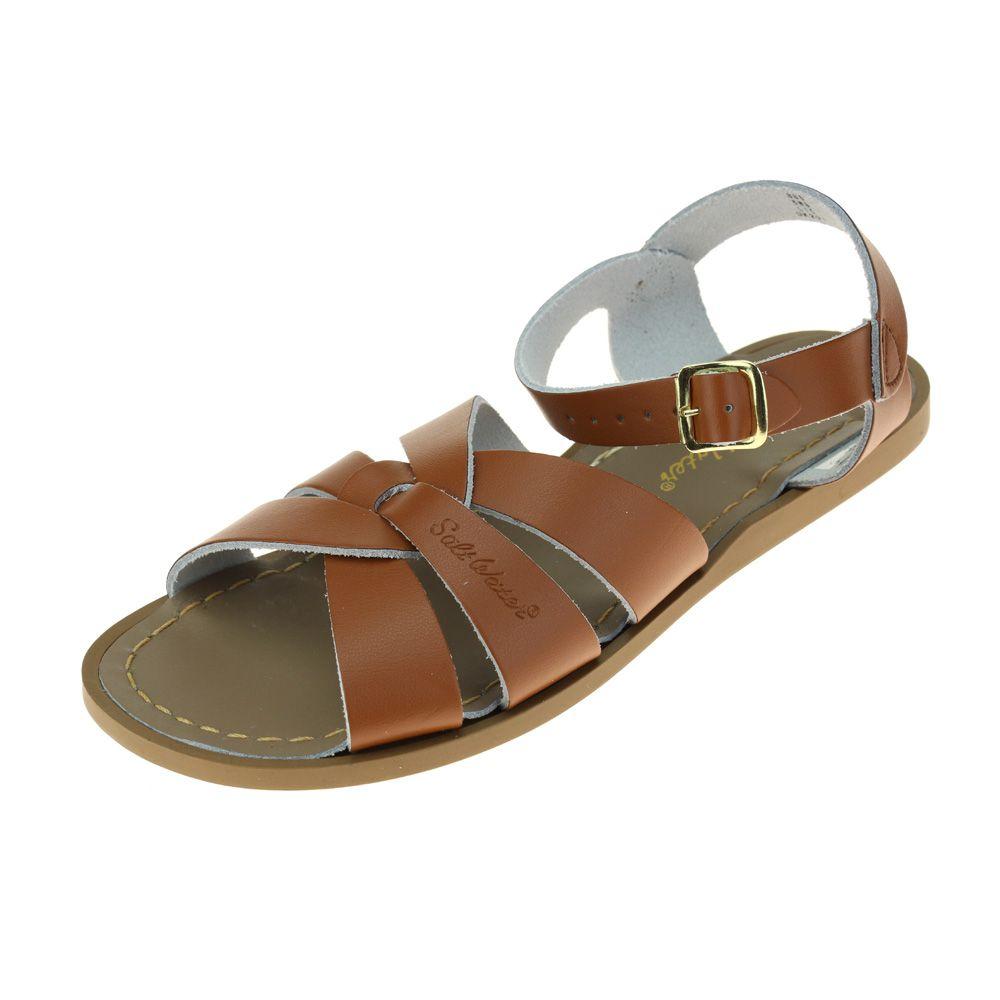 salt water original womens tan sandal ebay