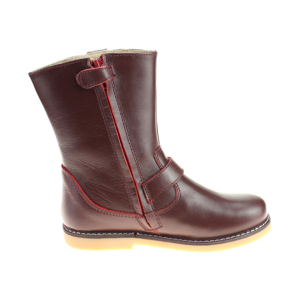 9272 Petasil Berta Boot in Dark Wine Leather
