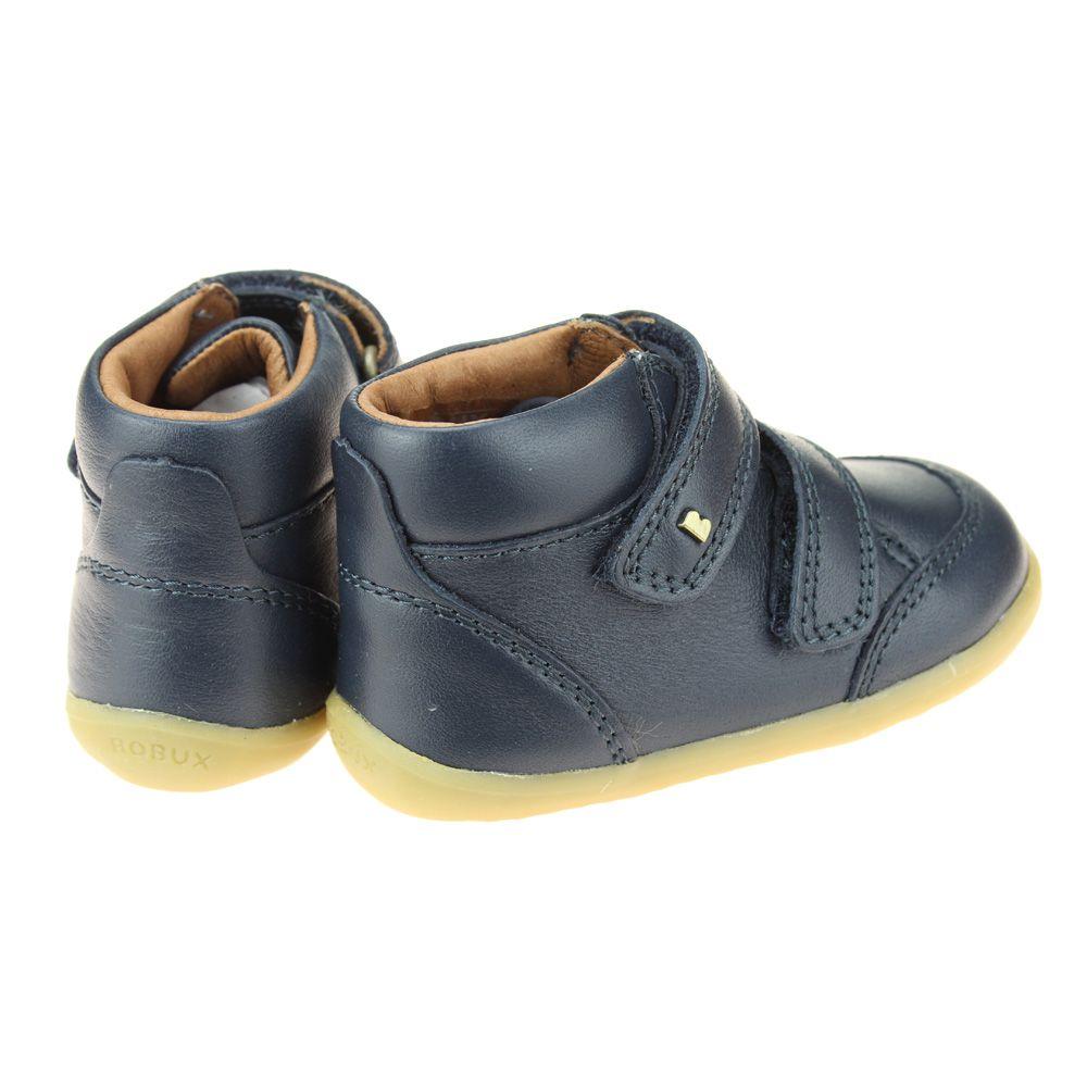 Bobux Desert Infant Boys Girls Navy Boot size eu kids children hook loop leather